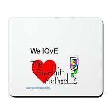 We Love The Sinclair Method Mousepad