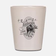 Anchorage Vintage Moose Shot Glass