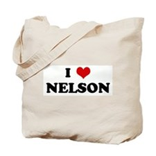 I Love NELSON Tote Bag