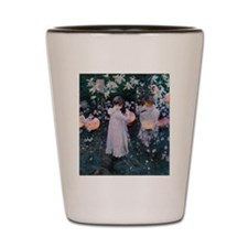 Sargent Carnation Lily Lily Rose Shot Glass