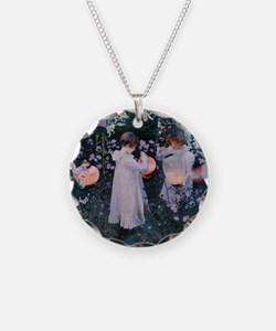Sargent Carnation Lily Lily Rose Necklace