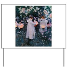 Sargent Carnation Lily Lily Rose Yard Sign