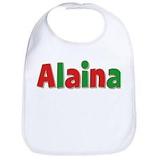 Alaina Christmas Bib