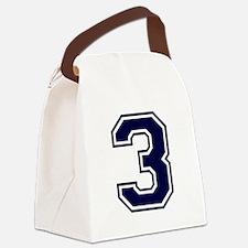 bluea3.png Canvas Lunch Bag