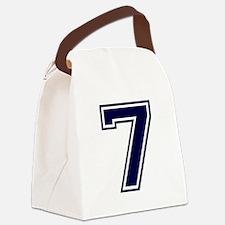 bluea7.png Canvas Lunch Bag