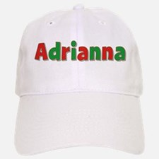 Adrianna Christmas Baseball Baseball Cap