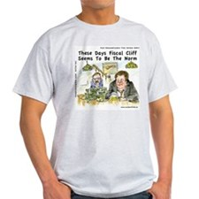 Fiscal Cliff Is The Norm T-Shirt