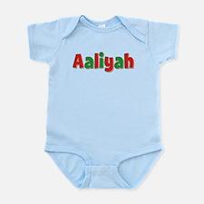 Aaliyah Christmas Infant Bodysuit