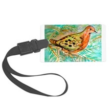 Mourning Dove Luggage Tag