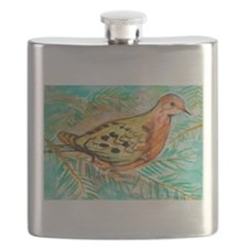Mourning Dove Flask