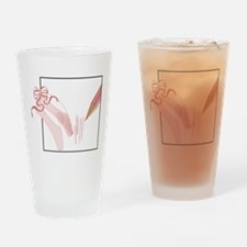 Ballet Shoes Drinking Glass