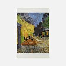 van Gogh Cafe Terrace at Night Rectangle Magnet