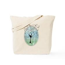 Blackbird Tree Tote Bag