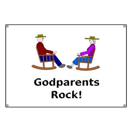 Godparents Rock Banner