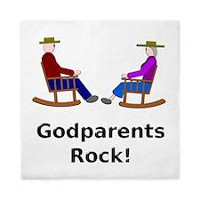 Godparents Rock Queen Duvet
