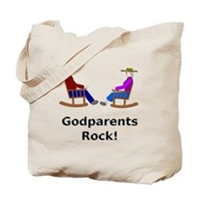 Godparents Rock Tote Bag