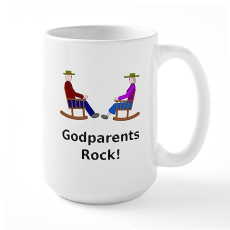 Godparents Rock Large Mug