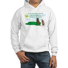 chocolate lab Jumper Hoody