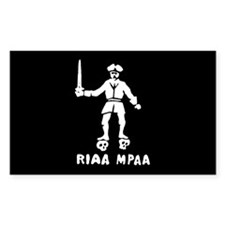 Pirate Rectangle Decal