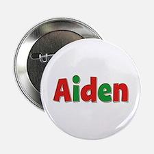 Aiden Christmas Button