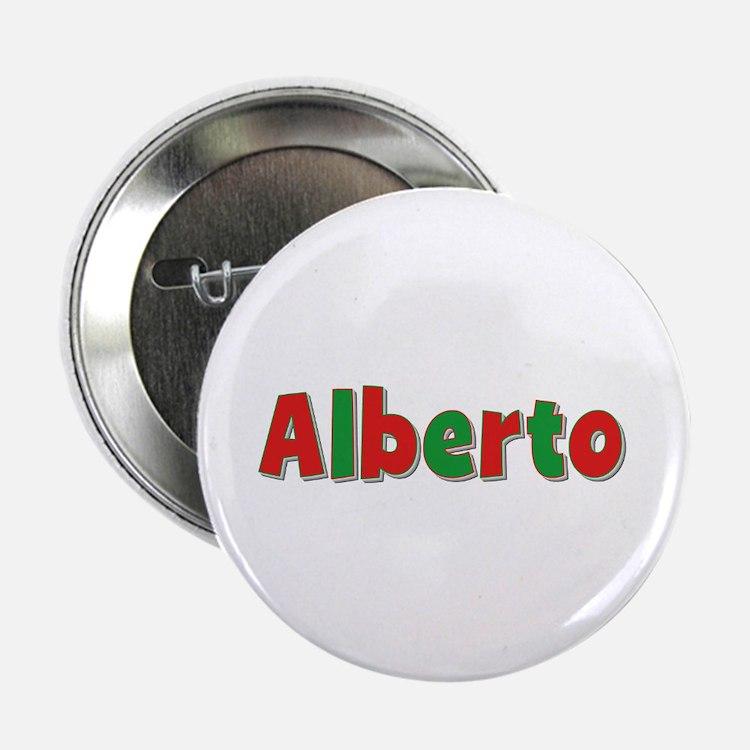Alberto Christmas Button