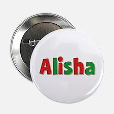 Alisha Christmas Button