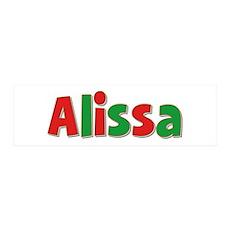 Alissa Christmas 36x11 Wall Peel