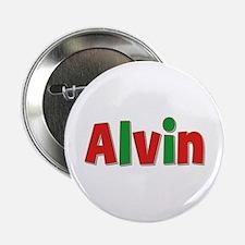 Alvin Christmas Button