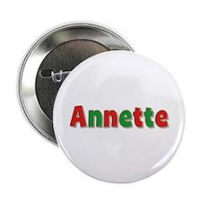 Annette Christmas Button