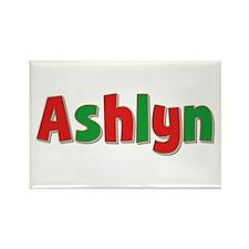 Ashlyn Christmas Rectangle Magnet