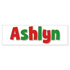 Ashlyn Christmas Bumper Bumper Sticker