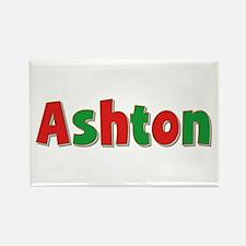 Ashton Christmas Rectangle Magnet