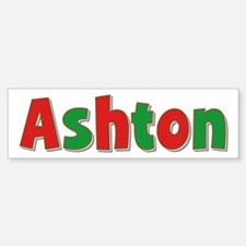 Ashton Christmas Bumper Bumper Bumper Sticker