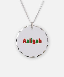 Aaliyah Christmas Necklace