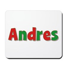 Andres Christmas Mousepad