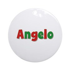 Angelo Christmas Round Ornament
