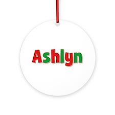 Ashlyn Christmas Round Ornament