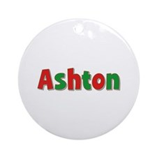 Ashton Christmas Round Ornament