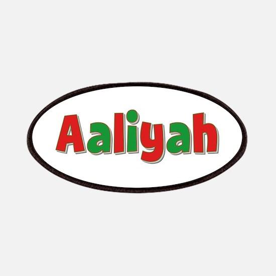 Aaliyah Christmas Patch