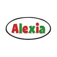 Alexia Christmas Patch