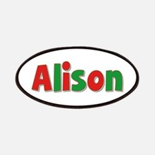 Alison Christmas Patch