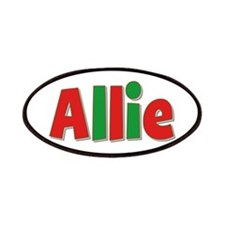 Allie Christmas Patch