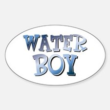 Water Boy Waterboy Sticker (Oval)