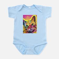 Psychadelic Cat Infant Bodysuit