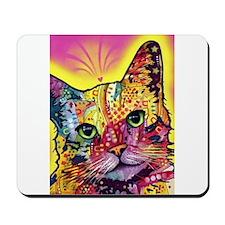 Psychadelic Cat Mousepad