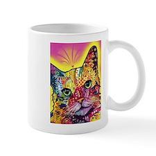 Psychadelic Cat Mug