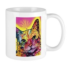 Psychadelic Cat Small Small Mug