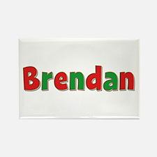 Brendan Christmas Rectangle Magnet
