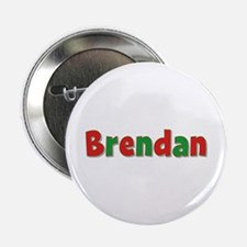 Brendan Christmas Button
