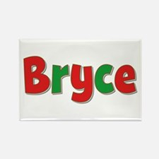 Bryce Christmas Rectangle Magnet